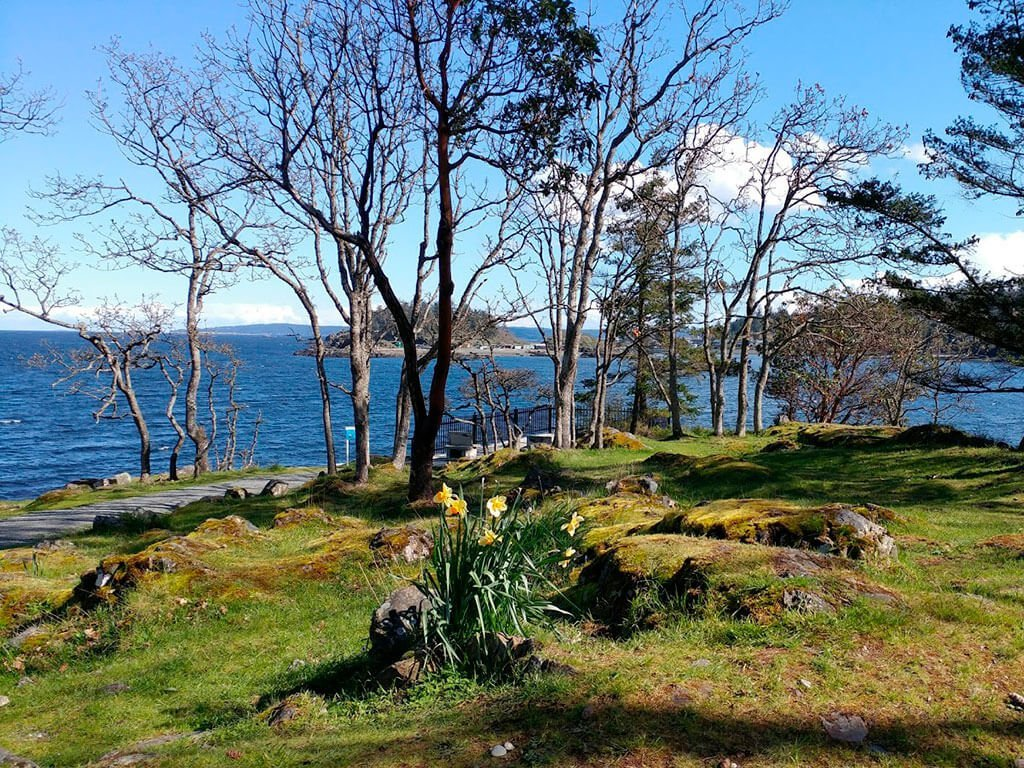 Spring time in Nanaimo. Neck Point Park in North Nanaimo
