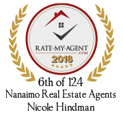 Rate My Agent 2018, 3rd of 124th Nanaimo Real Estate Agents